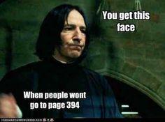 :P Haha Snape