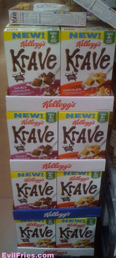 New Cereal - Kellogg's Krave
