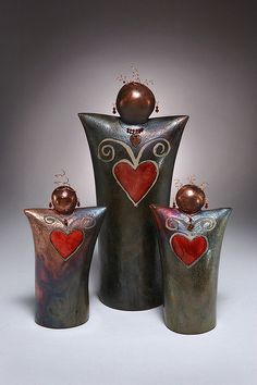 Barbara Hertel by Oregon Potters - love the change in her work!