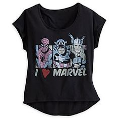 Tees Shirts, Girls Rules, Marvel Comics, Marvel Clothing For Women