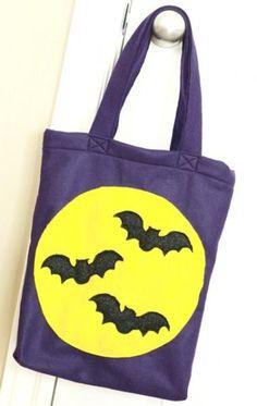 DIY Halloween Treat Bag : DIY Trick-or-Treat Bag