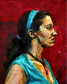 Alexa Meade paints directly on her subjects, making them appear 2 dimensional and flat.