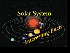 Interesting Facts -Solar System -All planets