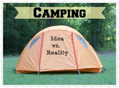 The Idea of Camping ... great read!