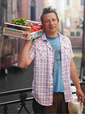 Jamie Oliver   Official site for recipes, books, tv, restaurants and food revolution - celebrity pan thumper