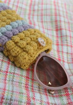 Sunglasses case: free pattern