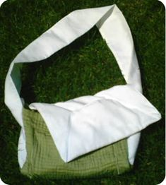 Diaper Bag from A Placemat - Tutorial/Pattern