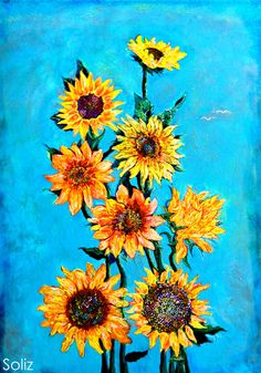 """Sunshine"" 18x24 acrylic on canvas."