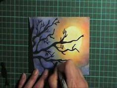 Moon dust card - YouTube