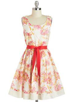 Boston in Bloom Dress, #ModCloth