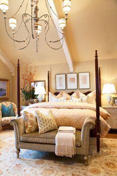 Elegant and cozy bedroom