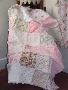 Chenille Rag quilt