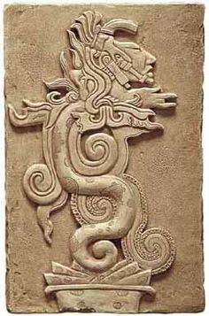 #Aztec Serpent Moon Goddess