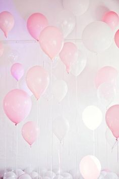 birthday, color, balloon party, pastel pink, pink parties