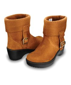 #Crocs! Chestnut Cobbler Ankle Boot for #women on #zulily ** but i want black