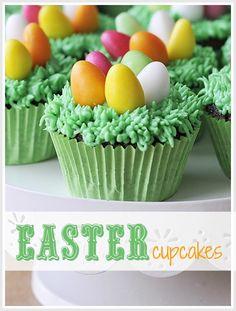Easter cupcakes idea