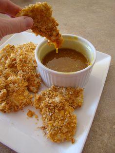 crunchy coconut chicken tenders