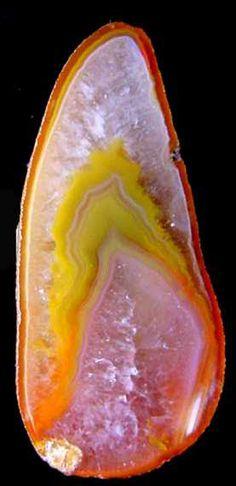 Agate slice from Australia