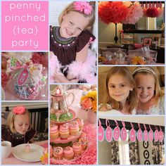 Girls Tea Party On A Budget