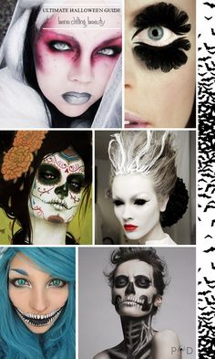 A guide to what to wear this Halloween for adults, costume outfit and makeup ideas for women and mens