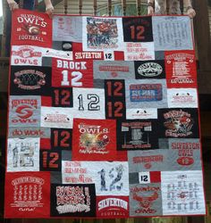 t-shirt quilts | shirt Quilts for Twins