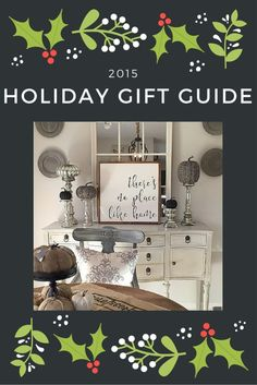 Tons of gift ideas f