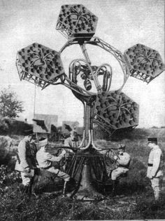 Before there was radar, there was this..... Acoustic locator /France: 1930s.