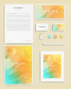 Venere® hostess agency - Brand Identity Design by Attila Horvath