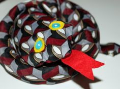 HOW TO: Turn An Old Necktie Into A Toy Snake!