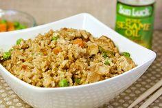 Recipe: Skinny Chicken Fried Rice