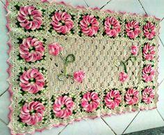 crochet manualidad, mantelito
