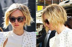 Jennifer Lawrence Hair - Bob