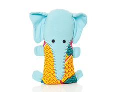 Dsenyo Fair Trade Blue Elephant