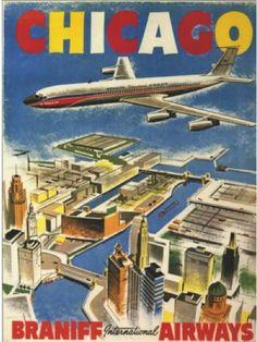 Chicago - Braniff Airways