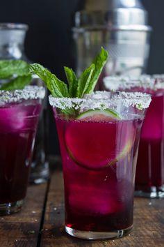 Prickly Pear Margaritas