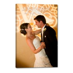 #Cotton #wedding anniversary present #signage Photos printed on canvas WITH words!