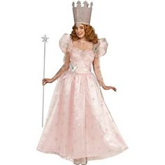 Wizard Of Oz Deluxe Glinda the Good Witch Costume #Halloween