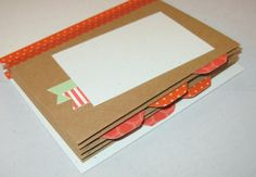 Hip Hip Hooray Mini envelope album  - lots of pictures in post.   Stampin' Up Hip, Hip Hooray kit.