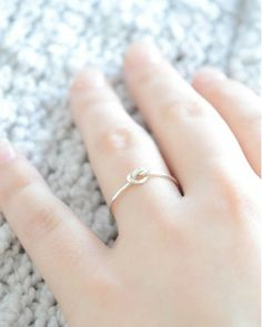 love knot ring.