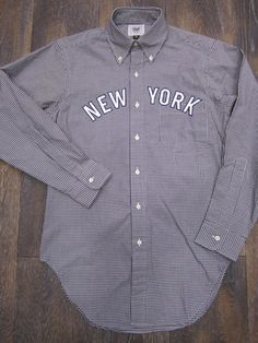 Mark McNairy gingham shirt $195
