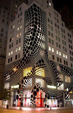 louis vuitton's, flagship store, new york