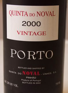 2000 Quinta do Noval Vintage Port Portugal