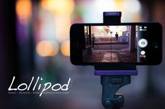 The Lollipod is an ultra-compact & lightweight tripod and monopod for your smartphone and compact camera ow.ly/qxu2x