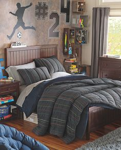 Sports Bedrooms, Boys Sports Rooms & Boys Sports Bedrooms | PBteen