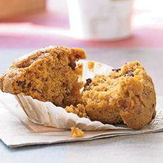 muffins recipe - pumpkin cranberry