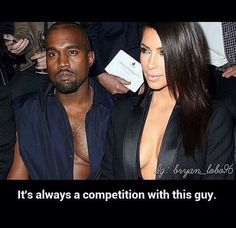 It's always a competition