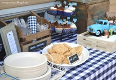 Little Blue Truck Themed Birthday Party, cute.