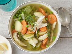 Slow Cooker Chicken and Vegetable Soup Recipe : Food Network Kitchens : Food Network - FoodNetwork.com