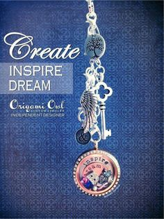 Create, Inspire, Dream #OrigamiOwl  Like what you see? Shop, Host or Join my team and get it all!! Mentor #9843954 rana.origamiowl.com
