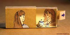 matchbox magic - looks like tea time